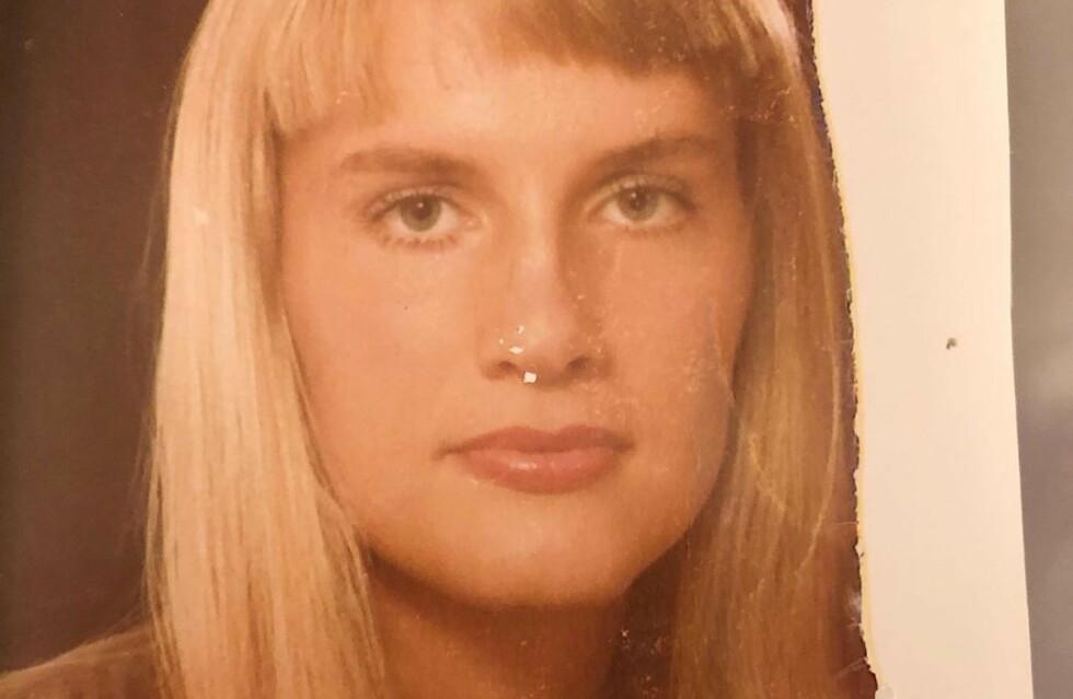 UNG OG LOVENDE: Dette bildet ble tatt da den svenske tv-stjernen var 19 år gammel, da hun jobbet som guide i Jerusalem. Mye har skjedd siden den gang. Foto: Privat