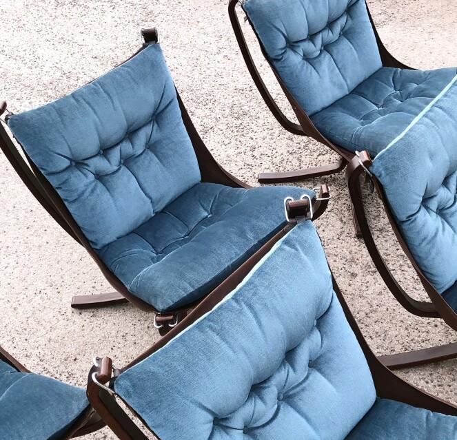 Falconstolen av Sigurd Resell. Foto Camilla Harbu Bielecki, Tidstypisk.