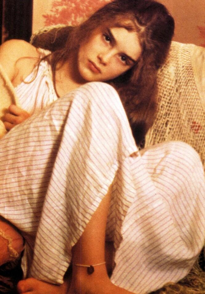 PRETTY BABY: Brooke Shields var bare 11-12 år da hun spilte prostituert i filmen Pretty Baby. FOTO: NTB Scanpix