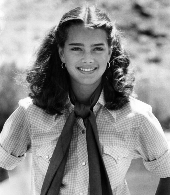 ENEBARN: Brooke Shields vokste opp på Upper East side på Manhattan, som enebarn av alenemoren Teri Shields. FOTO: NTB Scanpix