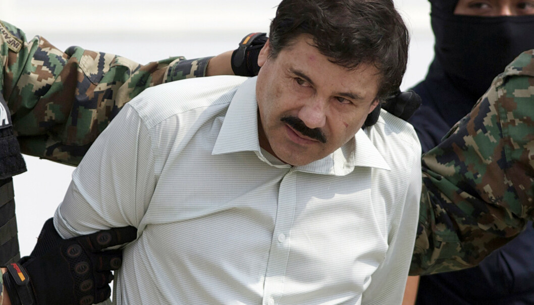 Joaquin «El Chapo» Guzman fotografert i 2014, kort tid etter at han ble pågrepet i Mexico. Foto: Eduardo Verdugo / AP / NTB scanpix