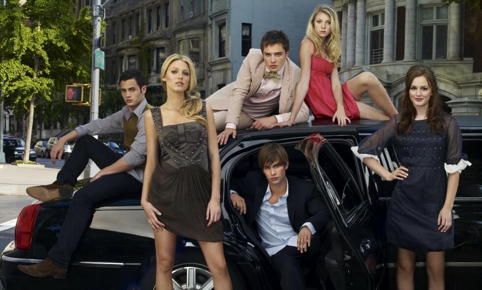 XOXO: I «Gossip Girl» fikk TV-seerne følge livene til en gjeng rike ungdommer på Manhattan - samt noen ikke fullt så rike, som prøvde å få innpass i gjengen. Snart kan fansen glede seg over nye episoder. Foto: NTB Scanpix