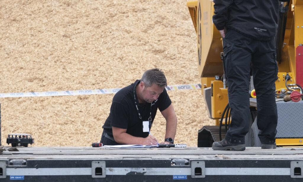 image: Mann kom i klem i arbeidsulykke på Måjvann i Kristiansand