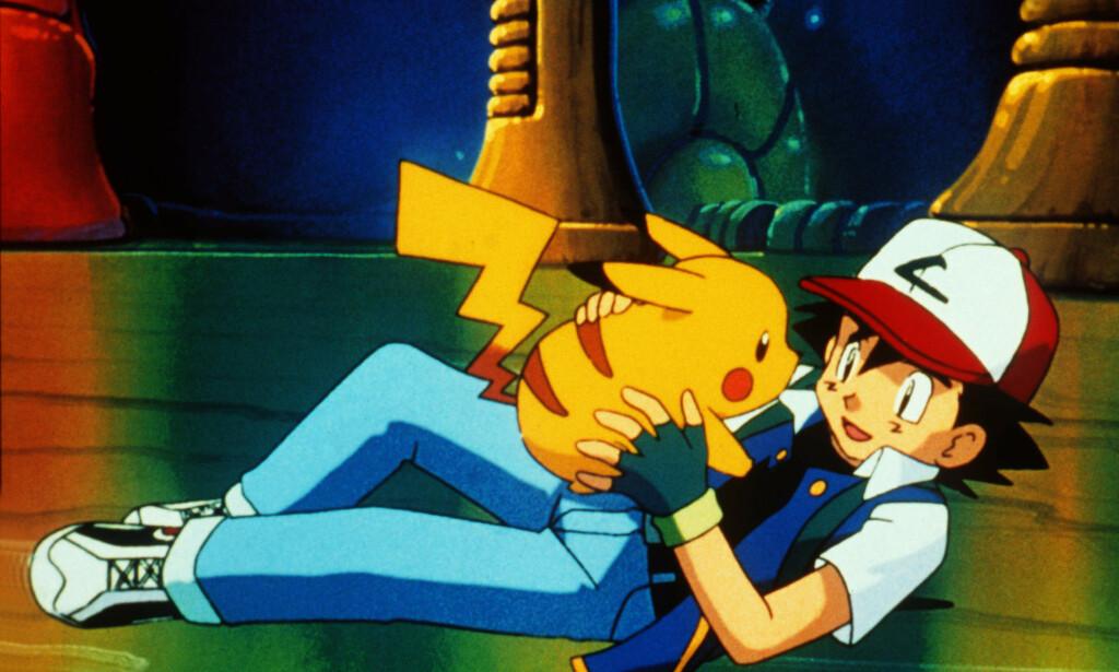 Pikachu og bestevennen Ash Ketchum fra filmen Pokémon - The First Movie. 📸: Kobal/rex / Scanpix