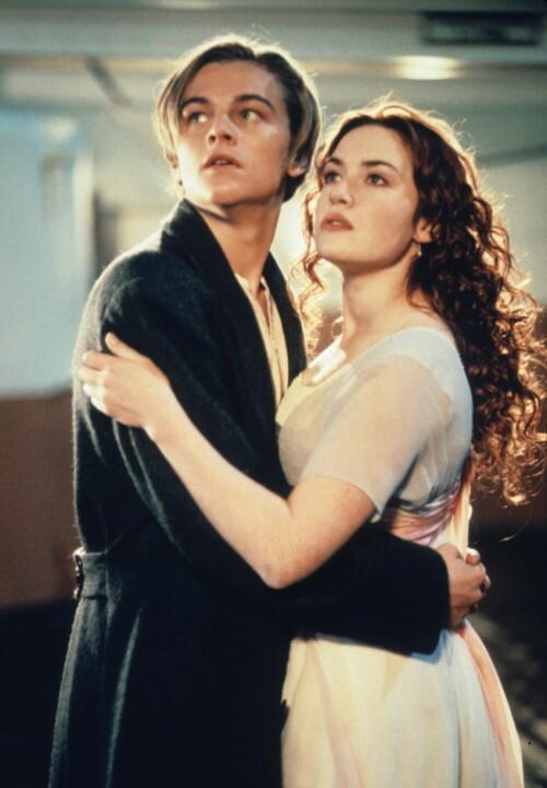 GJENNOMBRUDDET: Leonardo DiCaprio ble superstjerne over natten da han medvirket i rollen som Jack Dawson. Her sammen med Kate Winslet. Foto: NTB Scanpix