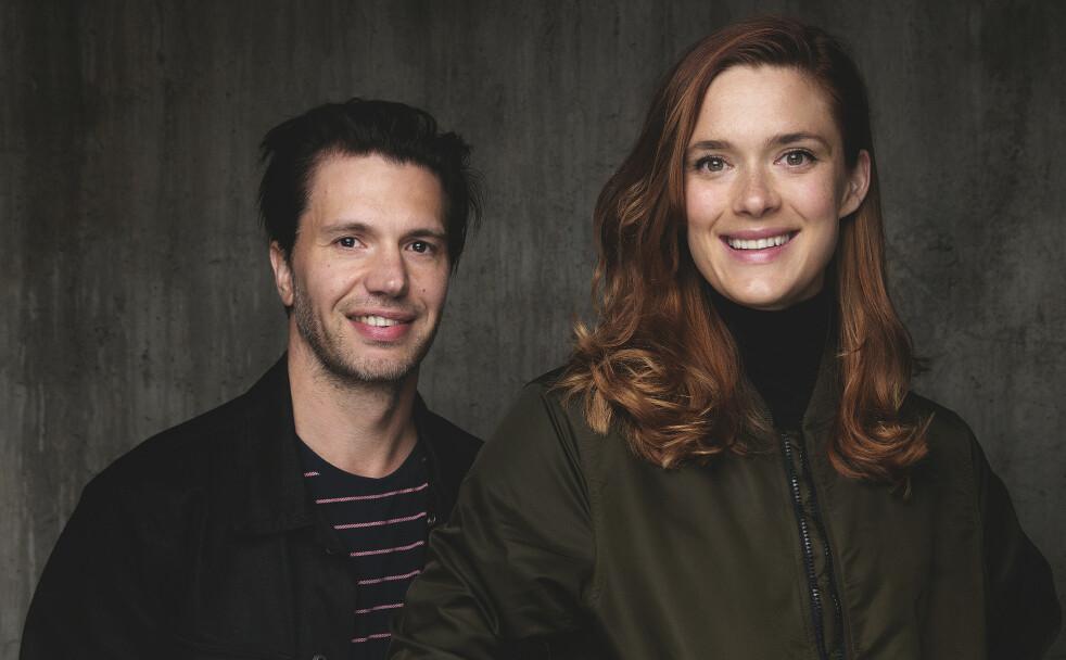 PARTNERE: I HBO-serien «Beforeigners» har finske Krista Kosonen vært nødt til å lære seg norsk. Her med motspiller Nicolai Cleve Broch. FOTO: Agnete Brun for HBO