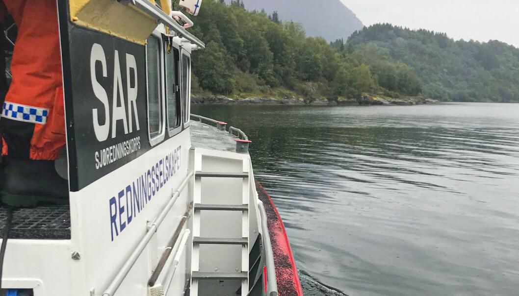 To redningsskøyter deltok i letearbeidet torsdag. Foto: Redningsselskapet / NTB scanpix
