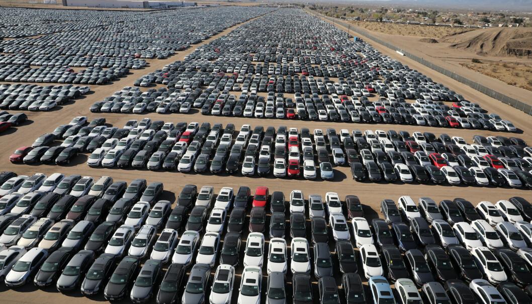 Her står Volkswagens skandale-biler