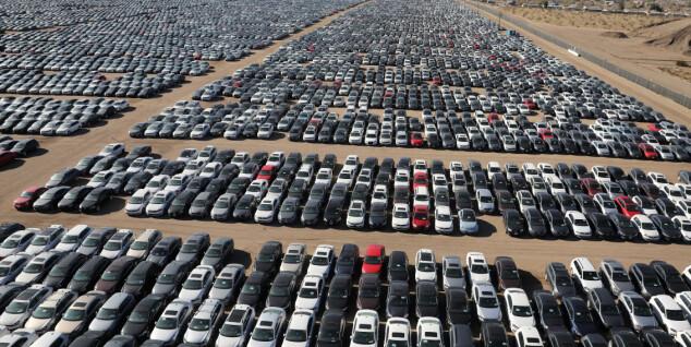 Se bildene: Her står VWs skandalebiler