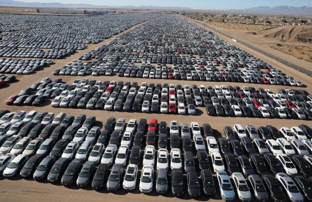 image: Enda heftigere: Her står VWs skandale-biler