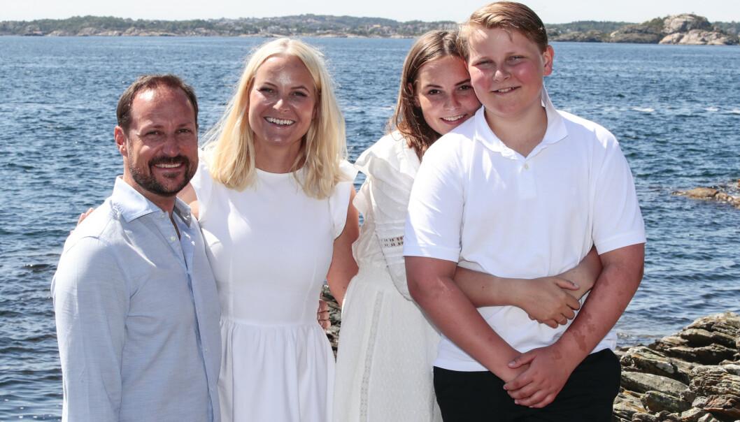<strong>TØFT:</strong> Det har vært tøft for familien som foreløpig nyter norsk sommer etter familietur til Ibiza. Foto: NTB Scanpix.