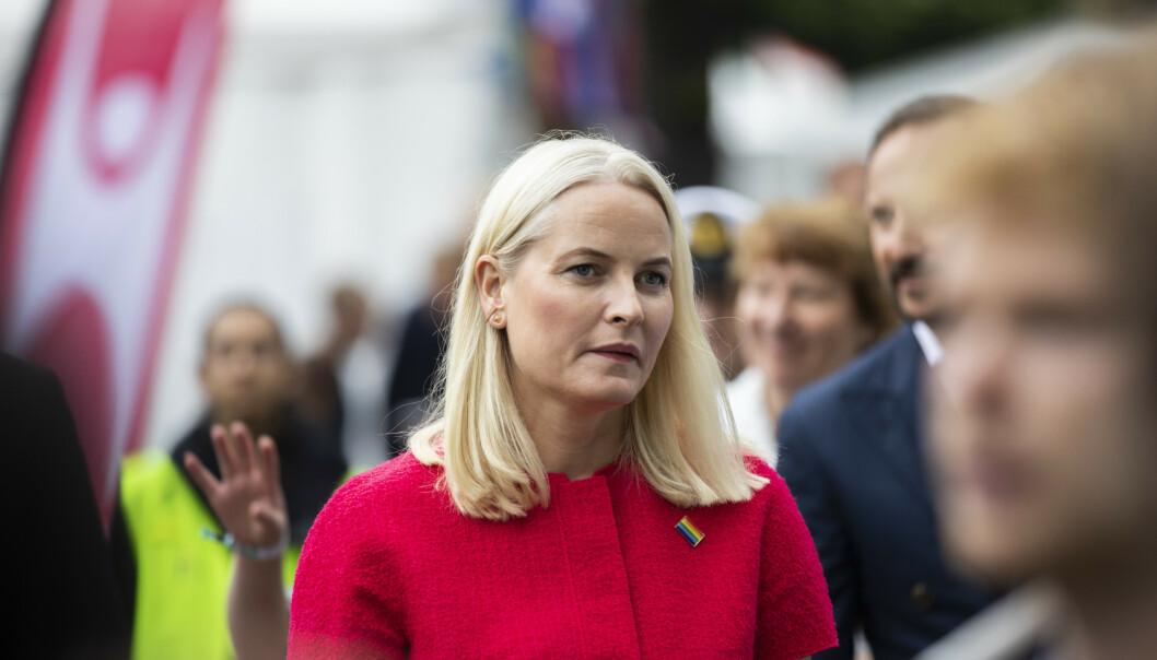 <strong>ÅPENHET:</strong> Kronprinsessen forteller selv til NRK at det ikke er behagelig å snakke om egen helse offentlig, men at hun ønsker å fortelle om sykdommen for å unngå spekulasjoner i tiden fremover. Foto: NTB Scanpix.