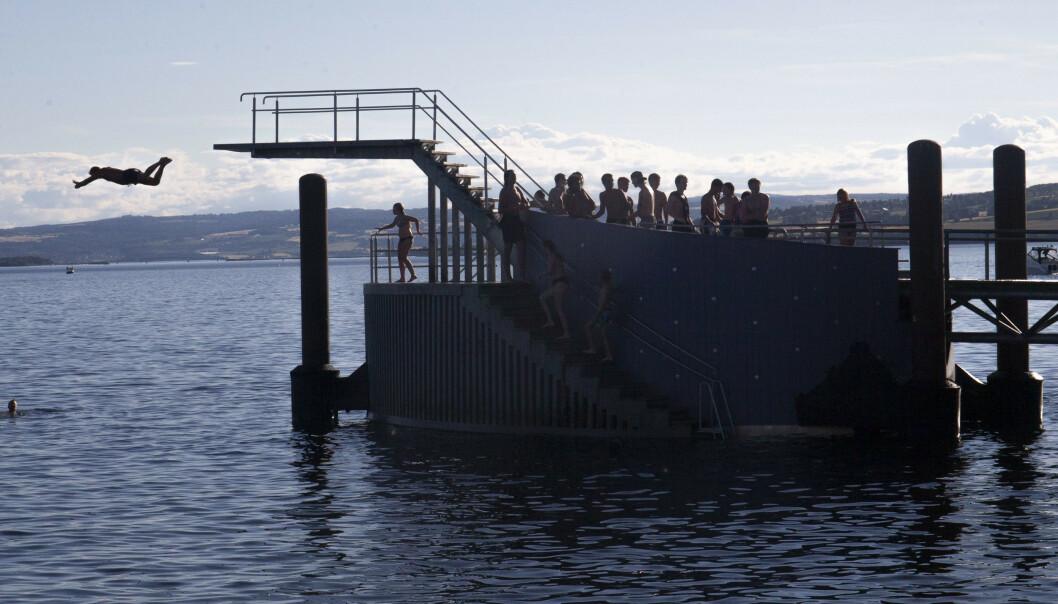 I første halvår i år druknet 20 personer etter fall fra land eller brygge mellom januar og juni, viser Redningsselskapets drukningsstatistikk. Foto: Fredrik Hagen / NTB scanpix
