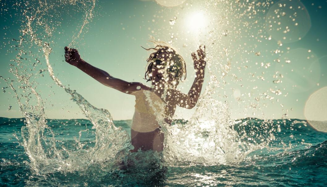 FORELDRE MÅ FØLGE MED: - Når barn bader, skal man ikke slippe dem av syne ett eneste sekund, sier ekspert. FOTO: NTB Scanpix