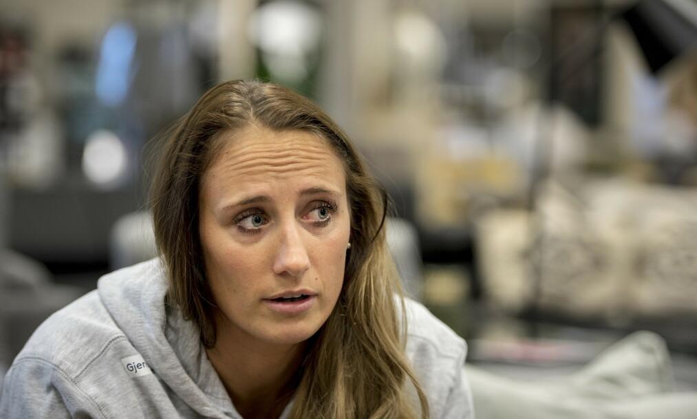 MISTET FAREN: Det er over fem måneder siden Camilla Herrem mistet faren. Nå forteller hun om støtten og savnet. Foto: NTB Scanpix