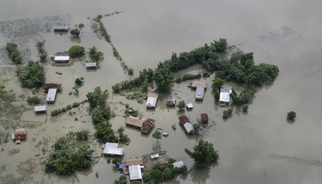 Over 150 døde i monsunflommer i Sør-Asia