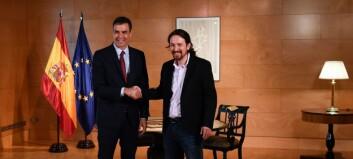 Spansk håp om regjering