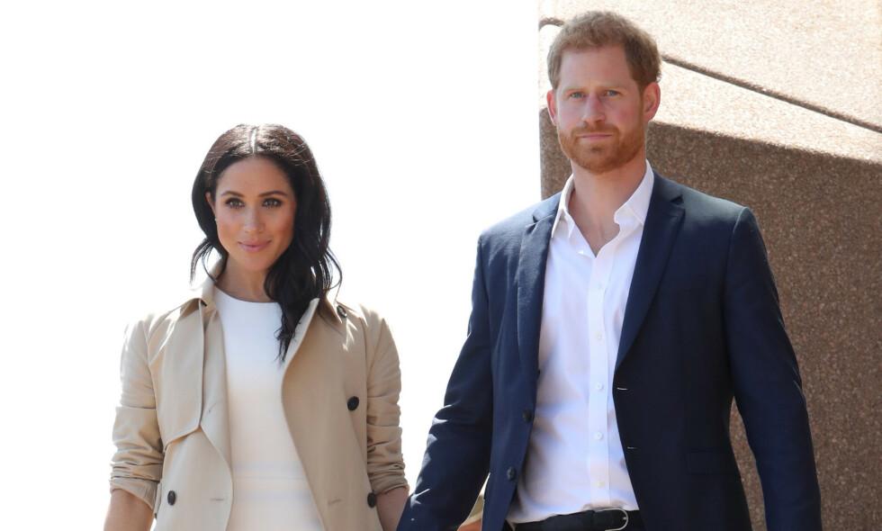 VANSKELIG Å FORBEREDE: Hertuginne Meghan har fått gjennomgå etter at hun giftet seg med prins Harry. Nå mener kongehusekspert at hun ikke ble godt nok forberedt på det nye livet. Foto: NTB Scanpix