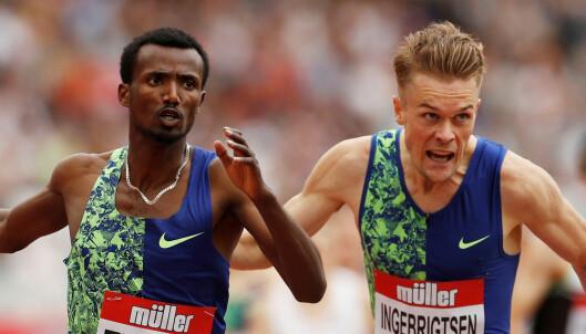 Norsk rekord for Filip Ingebrigtsen!