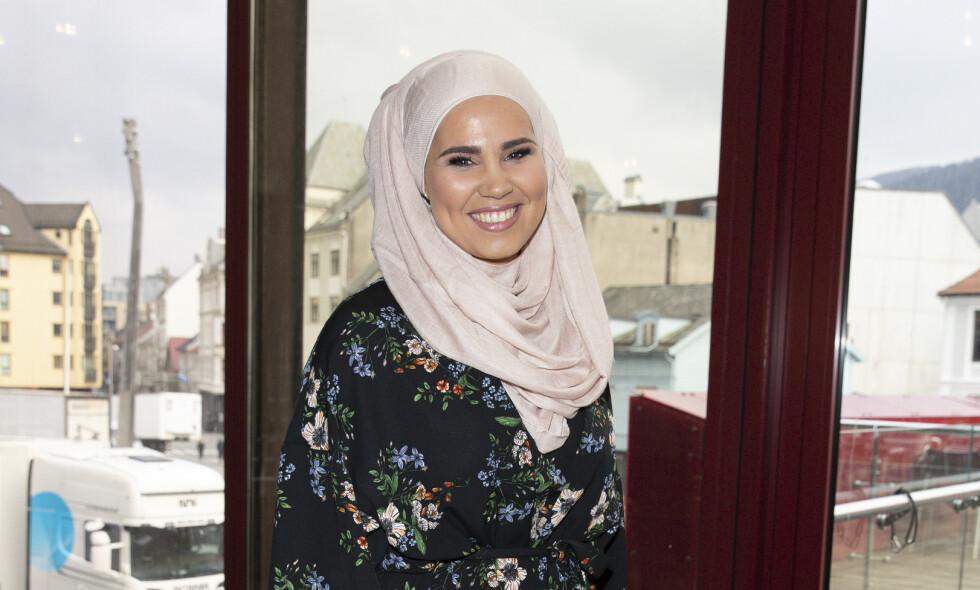 PÅ BRYLLUPSREISE: «SKAM»-stjernen Iman Meskini (22) giftet seg 12. juni i år. Nå er hun på reise i Tyrkia sammen med ektemannen. Foto: Andreas Fadum / Se og Hør