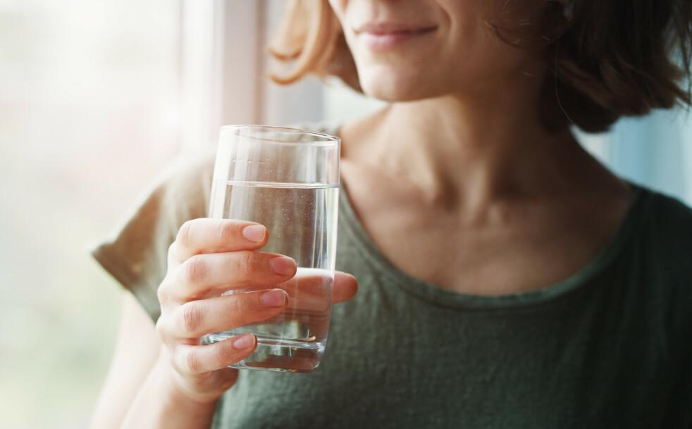 DEHYDRERT: Tørsten kommer faktisk først etter at kroppen har begynt å bli dehydrert. FOTO: NTB Scanpix