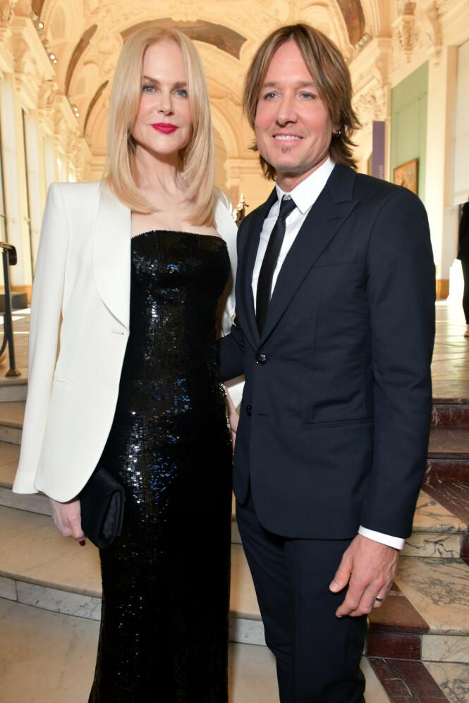 <strong>STJERNEPAR:</strong> Skuespiller Nicole Kidman og artist Keith Urban har vært gift siden 2006. Foto: NTB Scanpix