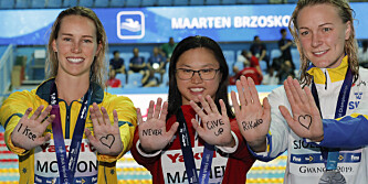 Medaljevinnere sendte rørende hilsen til kreftsyk konkurrent