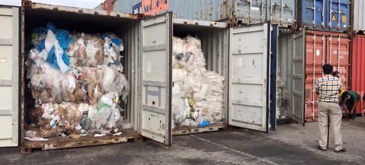 Nekter å være søppelfylling for USA og Canada