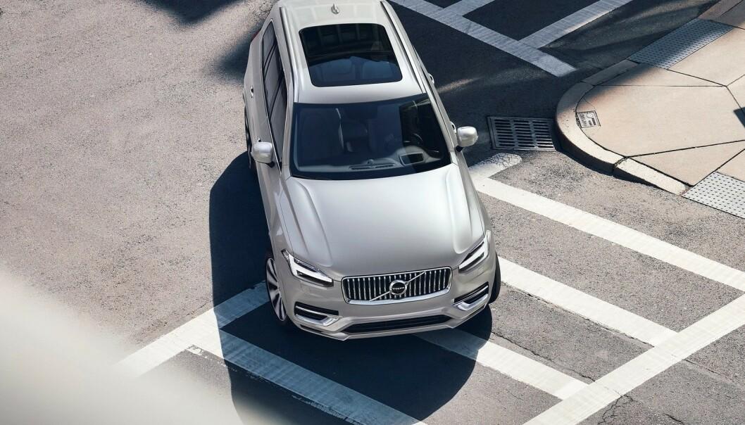 <strong>IKKE NOK:</strong> Volvo XC90 (bildet) er den største Volvo-en i dag. Snart kommer tidenes største Volvo-personbil, i form av XC100. Foto: Volvo