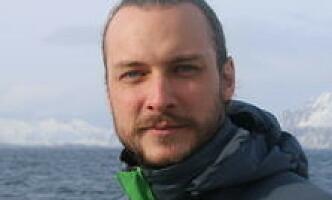 Fredrik Myhre, marinbiolog og seniorrådgiver i WWF Verdens naturfond. Foto: WWF Verdens naturfond