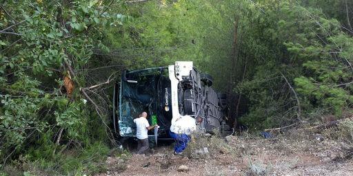 image: Bussulykke i Tyrkia - skal være norske om bord