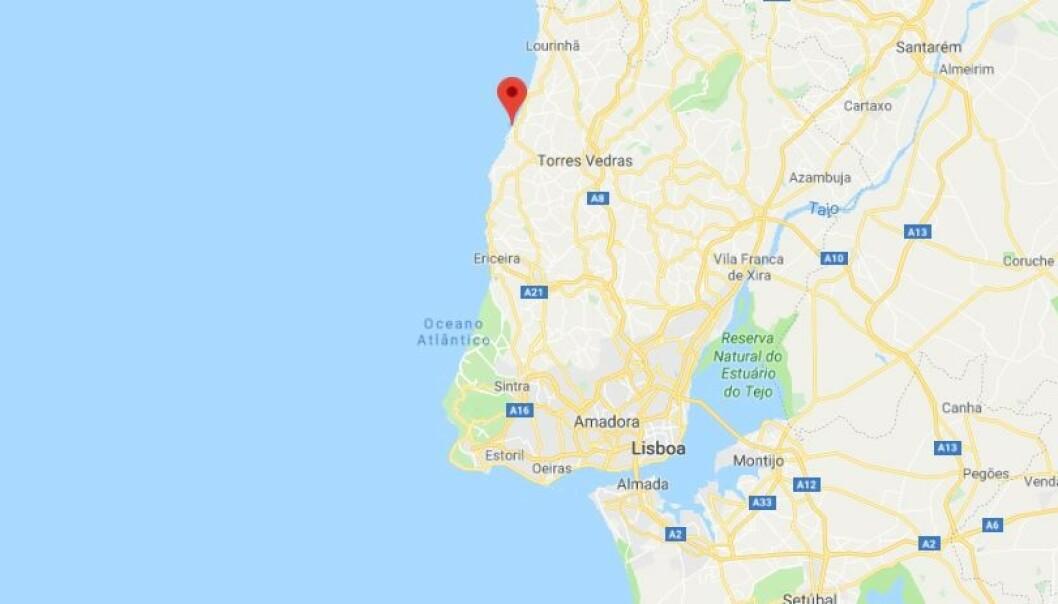 FORLIST: Vrakrestene av «Hav» ligger utenfor Santa Cruz. Kart: Google Maps