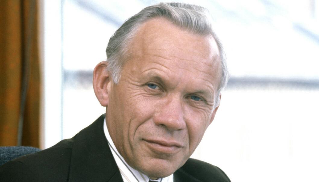 Tidligere Ap-statsråd Leif Aune er død