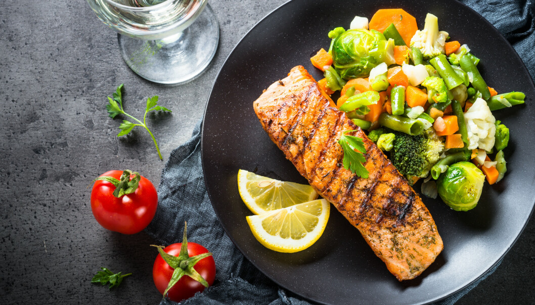 SUPERFISK: Helsedirektoratet anbefaler å spise fisk til middag to til tre ganger i uken.