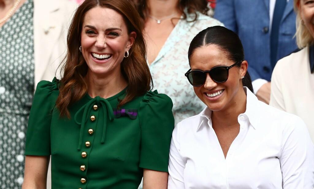 BOTOX-SPEKULASJONER: Nylig svirret ryktene om at hertuginne Kate har sprøytet inn botox i panna. Kensington Palace har nå valgt å kommentere ryktene. Foto: NTB Scanpix