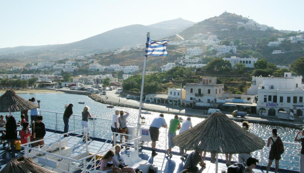 Ifølge den østerrikske reisearrangøren Life is a beach party har færre norske ungdommer reist til greske ferieøyer denne sommeren enn i fjor. Arkivfoto: Solveig Vikene / NTB scanpix