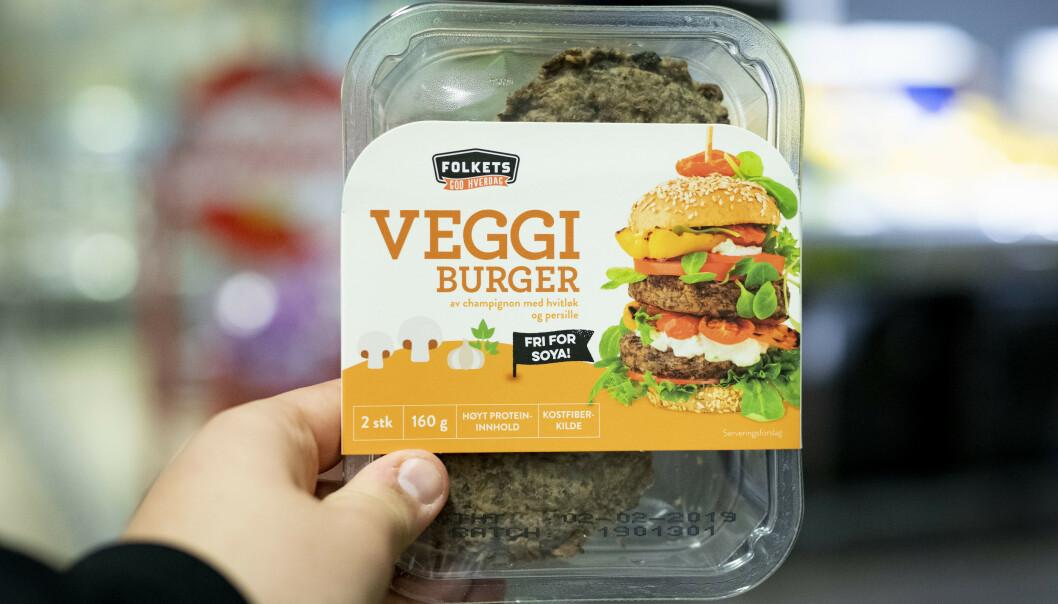 Salget av vegetarprodukter skyter i været