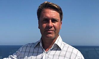 UFORTJENT: Norden-sjef Geir Kronbæck mener kritikken cruisenæringa får er ufortjent. Foto: Privat