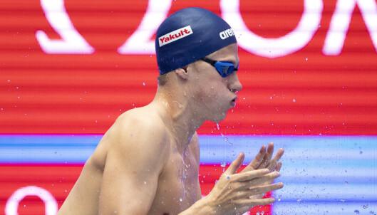 Henrik Christiansen til finalen på 1500 m fri i svømme-VM