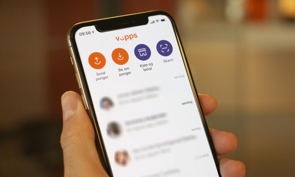 VIPPS-KRITIKK: Vipps mener at de har trengt tid for å stable ressursene på plass. Foto: Martin Kynningsrud Størbu