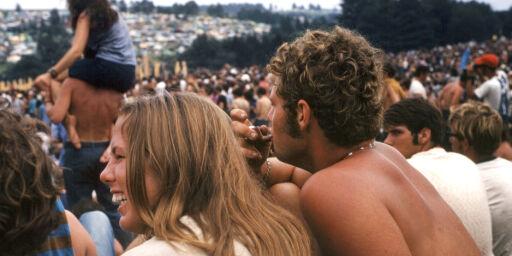 image: Nordmenn minnes Woodstock