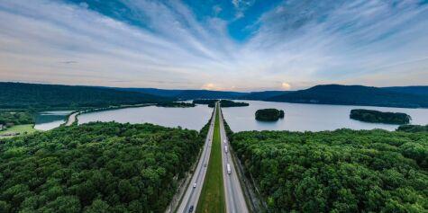 image: Alt klart for motorvei til Kina