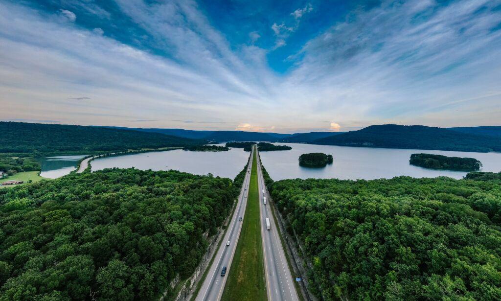 image: Alt klart for motorvei - til Kina