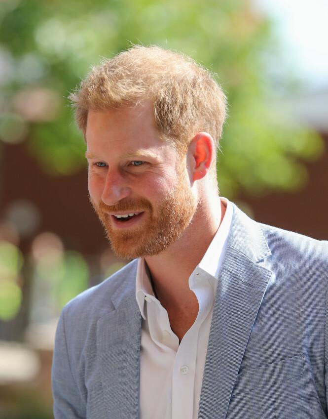 <strong>NYTT INTERVJU:</strong> Prins Harry avslører hvor mange barn han ønsker seg i et nytt intervju. Foto: NTB Scanpix