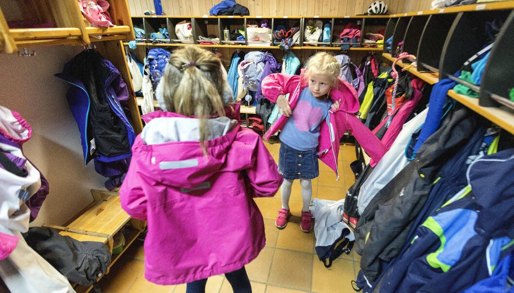 Flere barn starter i disse dager på SFO etter sommerferien, men tilbudet som møter barna, er svært variert. Foto: Gorm Kallestad / NTB scanpix