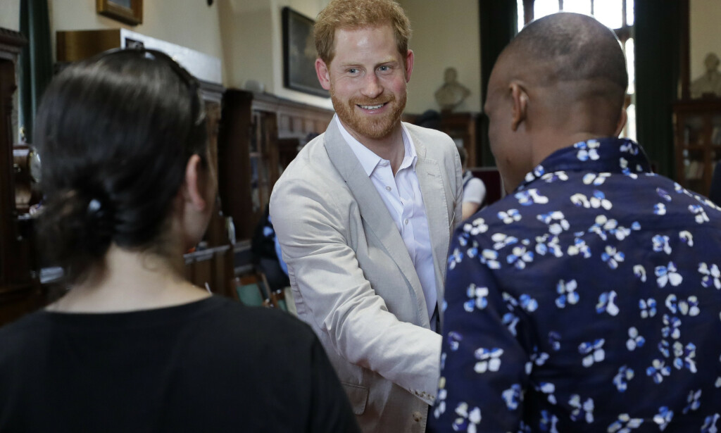 Prins Harry sier i et intervju med britiske Vogue at han vil ha maksimum to barn. Foto: AP / NTB scanpix.