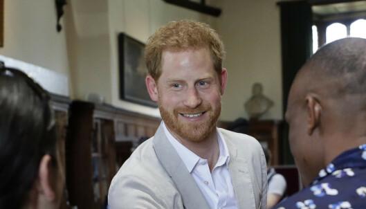 Prins Harry vil ikke ha flere enn to barn