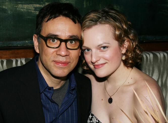 2009-2011: Fred Armisen og Elisabeth Moss. Foto: Scanpix