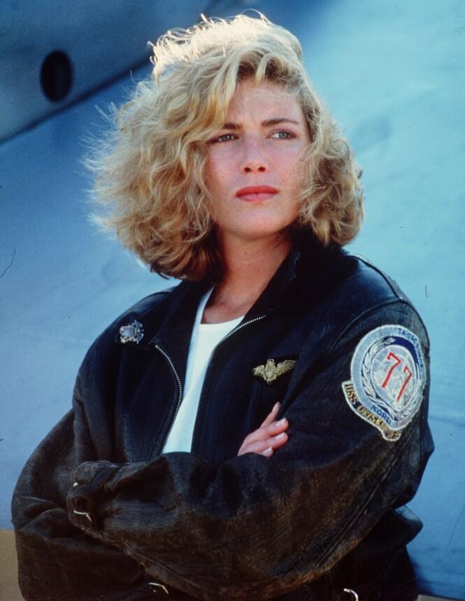 <strong>STOR SUKSESS:</strong> Kelly McGilman er best kjent fra rollen som Charlie i den ikoniske filmen «Top Gun». Foto: NTB Scanpix