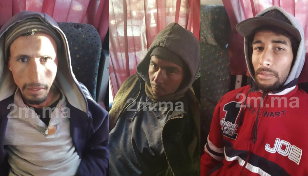 De drapsdømte i Marokko anker